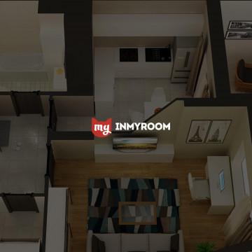 HTML5 анимация на сайт для «InMyRoom»