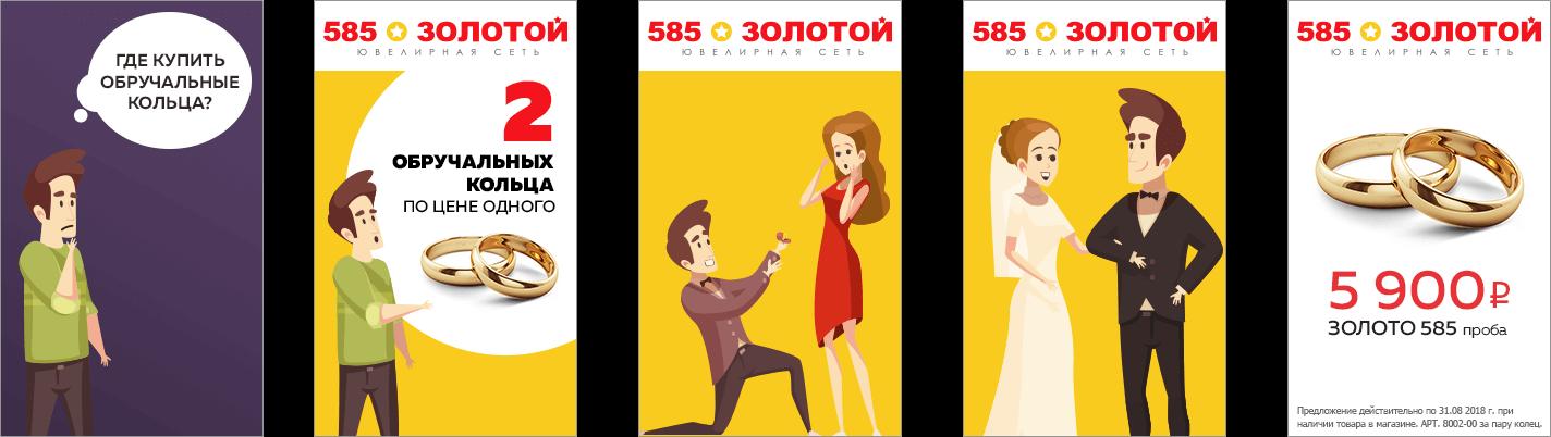 Html5 баннер для «585»