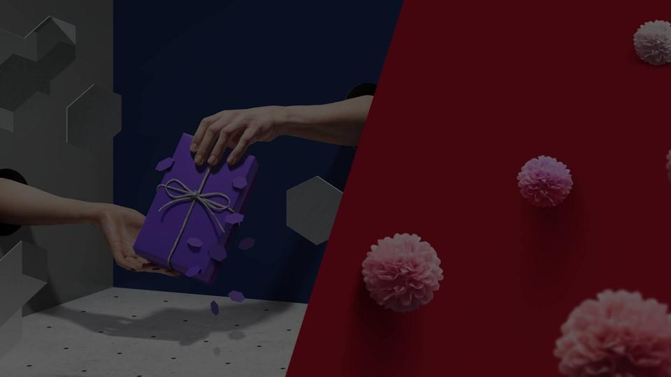 Серия видео баннеров для «beru» приуроченных к 23 февраля и 8 марта