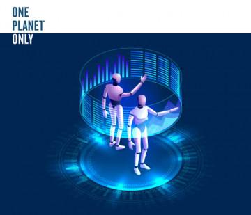 HTML5 баннер для «OnePlanetOnly»
