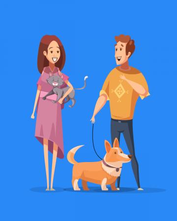 HTML5 баннер для «SpotPet» #1